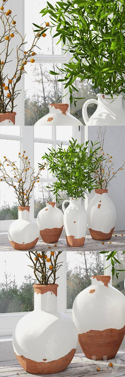 现代花瓶3d模型【ID:623431802】
