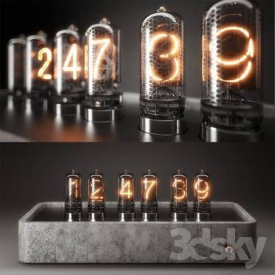 现代灯具模型3D模型【ID:623471370】