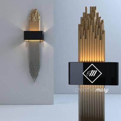 现代壁灯模型3D模型【ID:523486995】