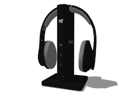 耳机SU模型
