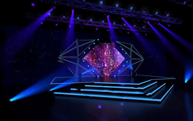 舞台3D模型