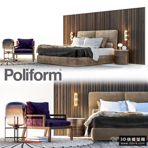 现代风格床组合