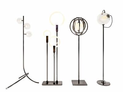 现代北欧落地灯组合 现代落地灯 北欧落地灯组合