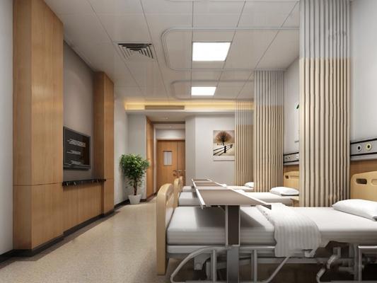 病房3D模型