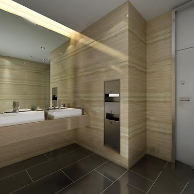 卫浴器具3D模型