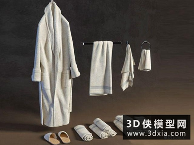 浴袍毛巾组合