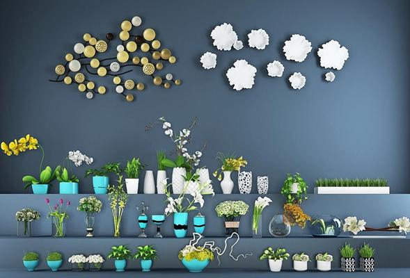 室内外植物装饰品合集 花艺 装饰品 墙饰 盆栽 花艺 装饰品 墙饰 盆栽