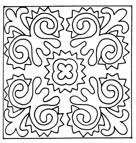 凹凸黑白-黑白古典 506