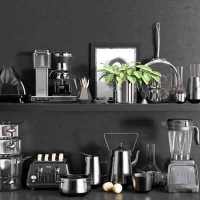 厨房电器3D模型