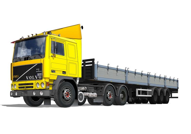 卡车SU模型