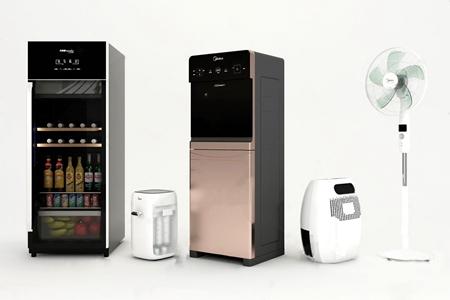 现代电器 现代家用电器 酒柜 净水机 饮水机 除湿机 落地扇