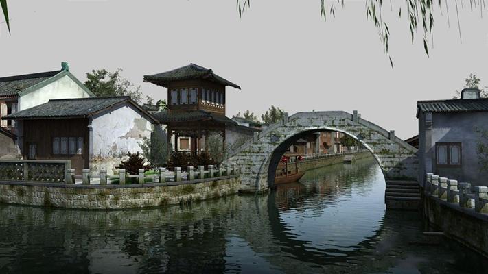 室外建筑 室外建筑 桥