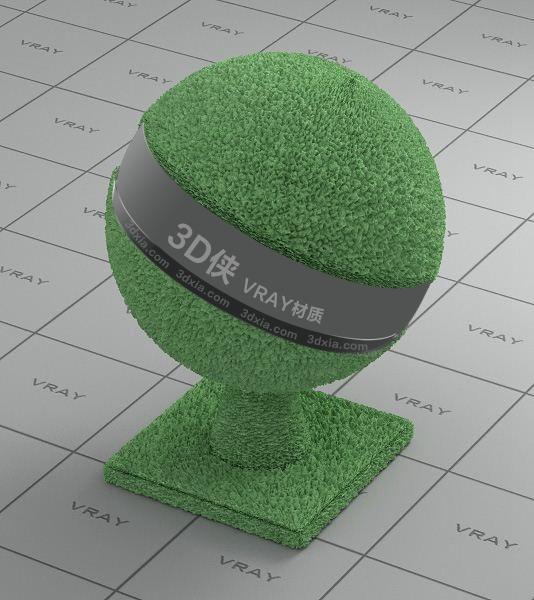 绿色毛巾Vray材质下载