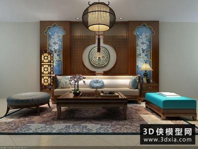 东南亚客厅沙发组合