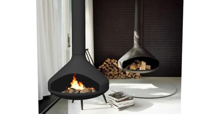 现代壁炉 铲子 长柄勺 煎锅 炊具 火炉