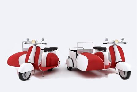 现代三轮摩托车 现代其他器材 侧三轮 边三轮 挎斗 复古三轮 电动车