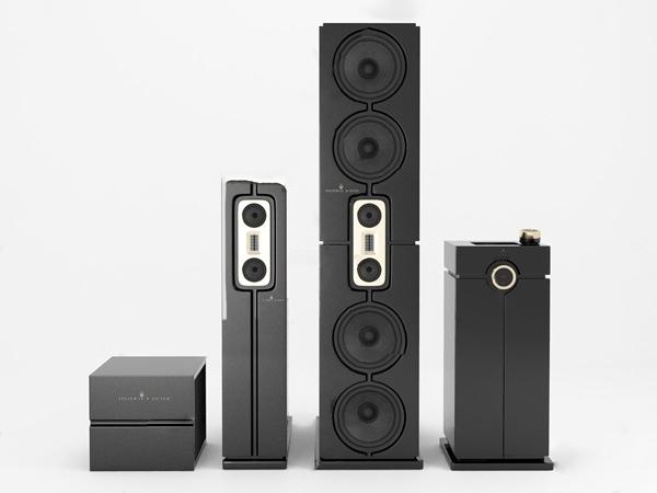 现代家用音响3d模型