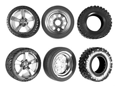 现代汽车轮胎组合 现代其他器材 汽车轮胎组合