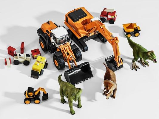 儿童玩具集合 现代玩具 儿童玩具 玩具汽车