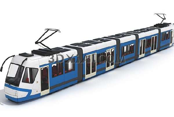 地铁3D模型