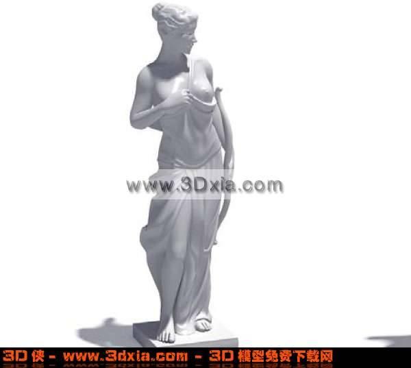 十分漂亮的3D美女模型