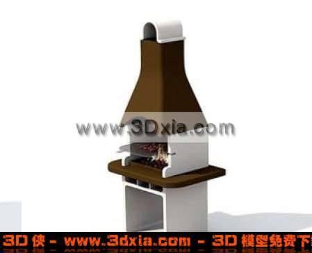 �★典的�敉�3D烤�t模型