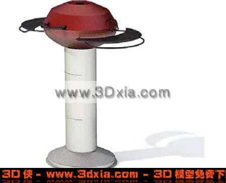 普通的户外用品3D模型