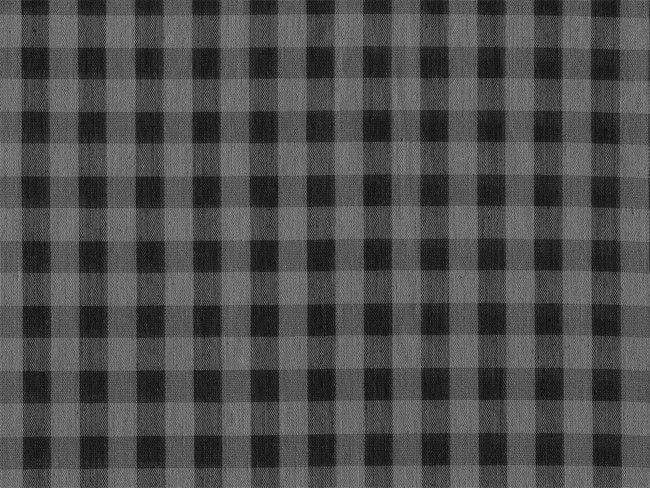 格子黑灰布纹