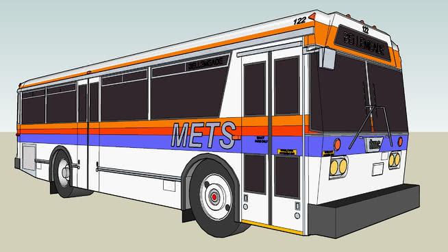 1981年citycruiser TMC T 30城市公交客车 火车 巴士 警车(大) 救护车 野营游乐汽车
