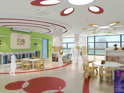 16套 幼兒園室內CAD施工圖+方案+效果圖