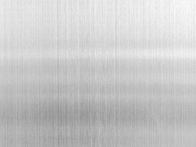 银灰色拉丝不锈钢