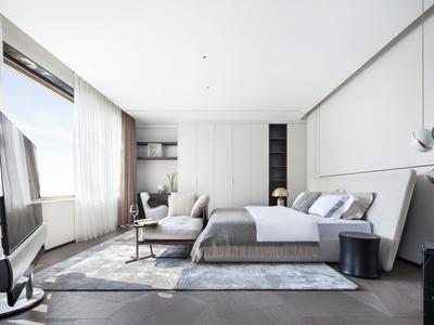 上海 湯臣一品現代輕奢住宅施工圖 效果圖 3D模型