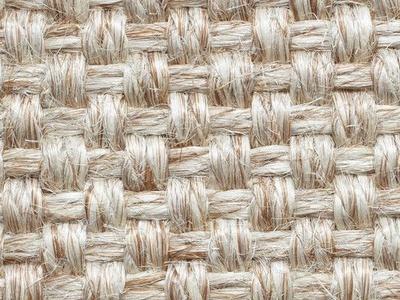 亚麻地毯 麻绳