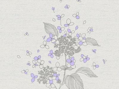 现代简约布艺壁纸 花纹