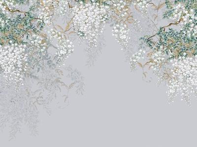 高清 现代 壁画 墙纸 装饰画 中式