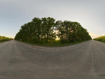 户外全景HDR 小路 天空高清贴图