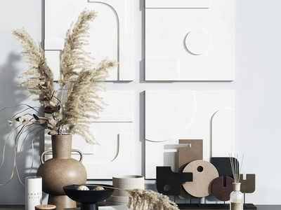 現代飾品擺件 花瓶 雕塑 裝飾畫