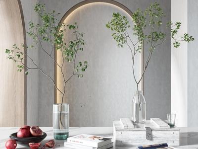 现代饰品摆件 植物
