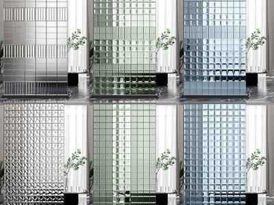 现代隔断 玻璃砖