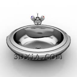 d洗手盆sdown59-3DS格式