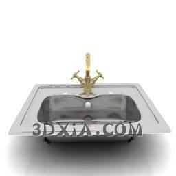 d洗手盆sdown65-3DS格式