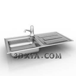 d洗手盆sdown80-3DS格式