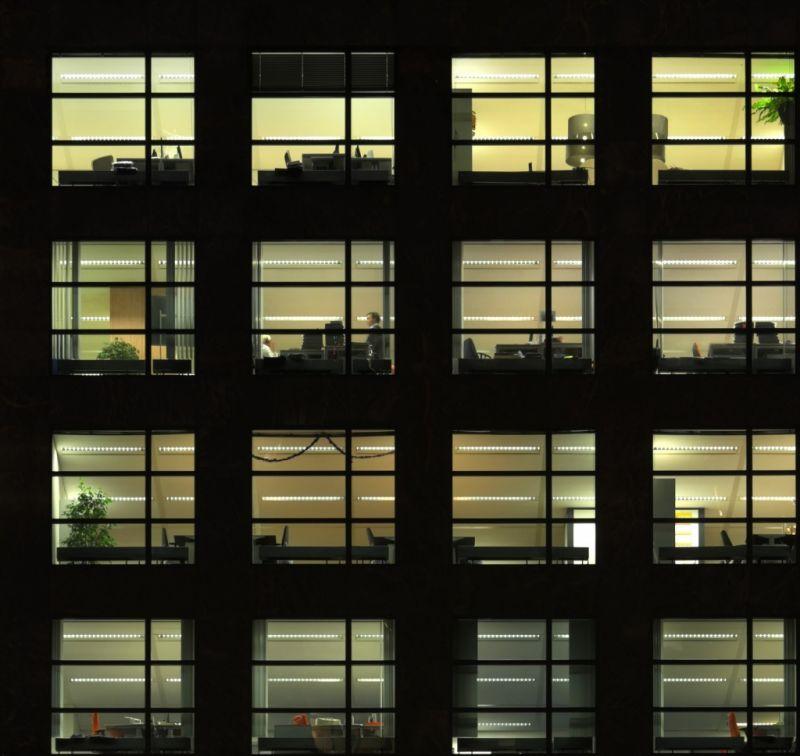 外景-夜晚窗户 16
