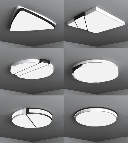 现代时尚吸顶灯3d模型