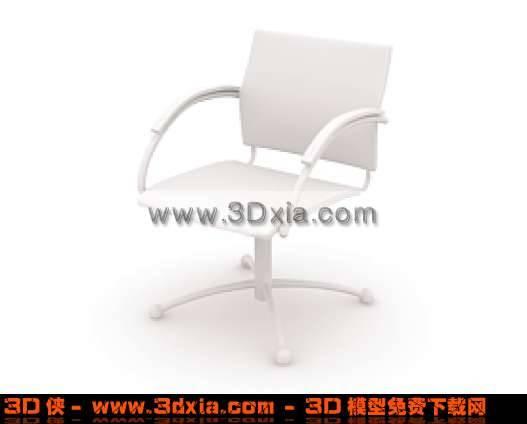非常漂亮的办公椅子3D模型