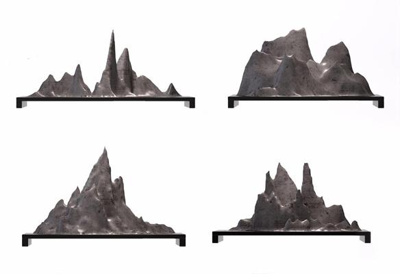 新中式假山摆件 新中式摆件 假山摆件