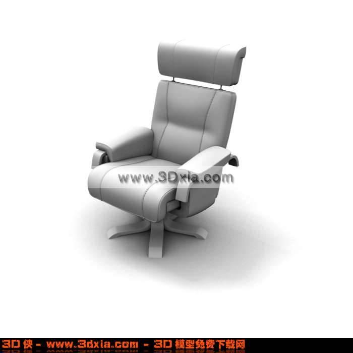 3D非常别致办公椅模型