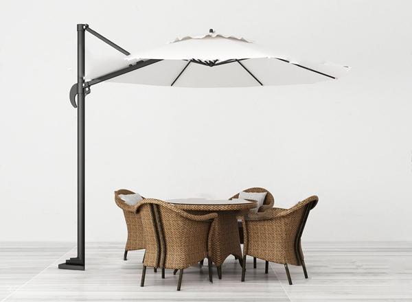 现代户外沙滩桌椅3d模型