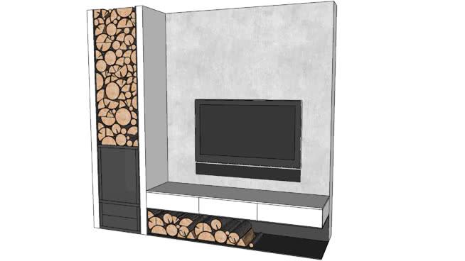 壁炉 电视机 电脑 显示器 监视器 家庭电视柜