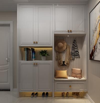 現代鞋柜3D模型